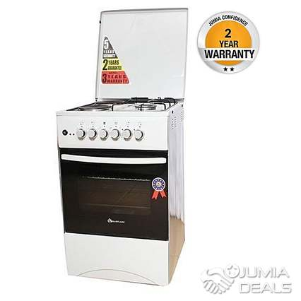 Two Electric Gas Cooker Oven
