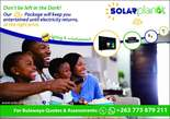solar power packages ranging from 1.2kVa-5kVa power - Zimbabwe